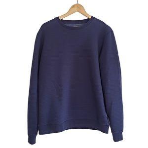 PETER WERTH Blue Sweater L